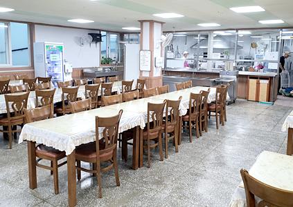 양로원 식당 이미지